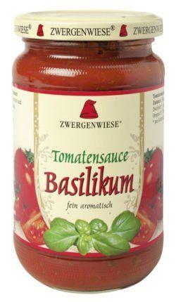 Zwergenwiese Tomatensauce Basilikum 6x340ml