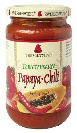 Zwergenwiese Tomatensauce Papaya-Chili 6x340ml