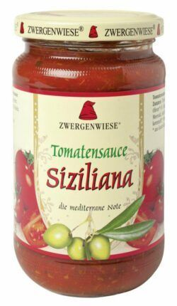 Zwergenwiese Tomatensauce Siziliana 340ml