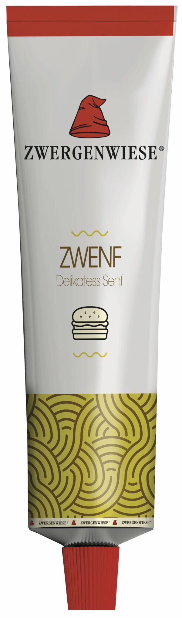 Zwergenwiese Zwenf Tube (Delikatess Senf) 6x200ml