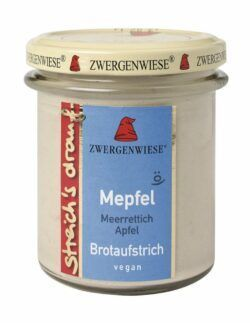 Zwergenwiese streich´s drauf Mepfel 6x160g