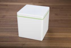 ajaa! Naturbox 1,4 Liter mit Farbring in lime 1Stück