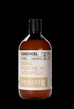 benecos BIO Duschgel BIO-Hafer - DEINE DUSCHE IM KORNFELD 500ml