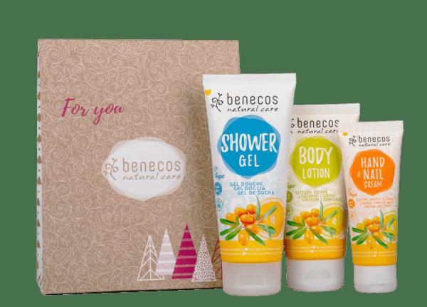 benecos Geschenkset - Sanddorn & Orange 1Stück
