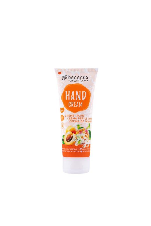 benecos Natural Hand Cream Aprikose & Holunderblüte 75ml