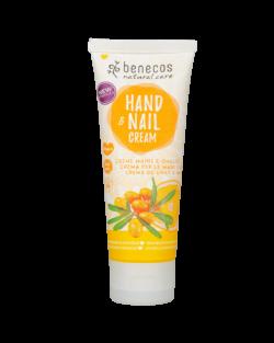 benecos Natural Hand- & Nail Cream Sanddorn & Orange 75ml