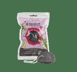 benecos Natural Konjac Sponge black bamboo 1Stück