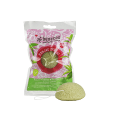 benecos Natural Konjac Sponge green tea 1Stück