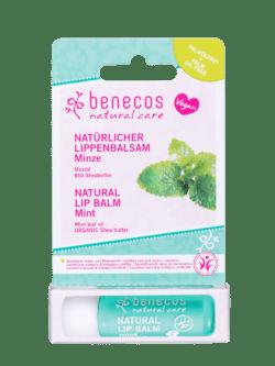 benecos Natural Lip Balm Minze 10x1Stück