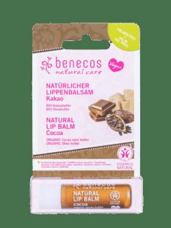 benecos Natural Lip Balm Kakao 10x1Stück