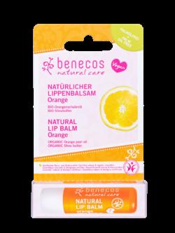 benecos Natural Lip Balm Orange 10x4,7g