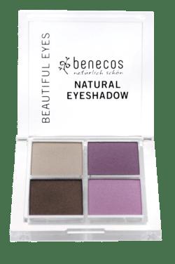 benecos Natural Quattro Eyeshadow beautiful eyes 8g