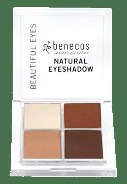 benecos Natural Quattro Eyeshadow coffee & cream 8,2g