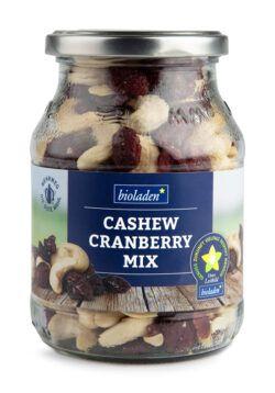 bioladen Cashew-Cranberry-Mix im Pfandglas 6x270g