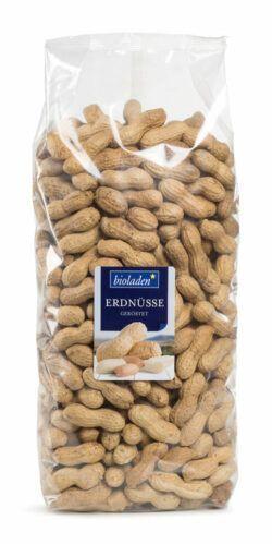 bioladen Erdnüsse in der Schale, geröstet 4x1kg