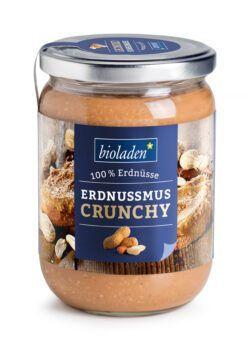 bioladen Erdnussmus Crunchy 6x500g