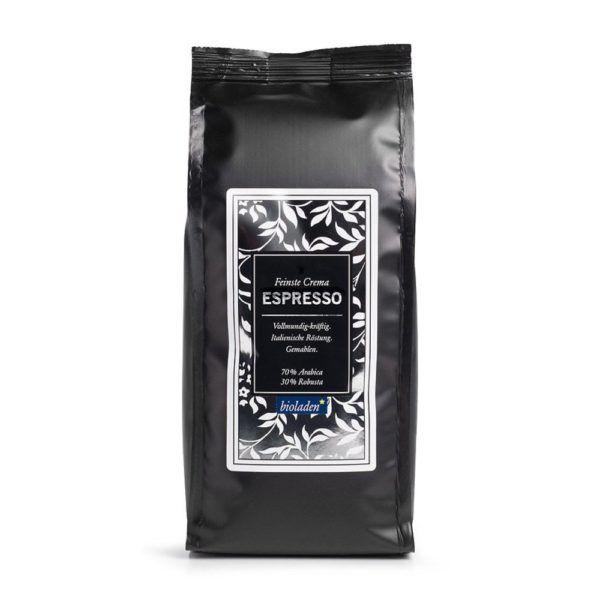 bioladen Espresso gemahlen 6x250g
