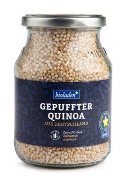 bioladen Gepuffter Quinoa, im Pfandglas 6x90g