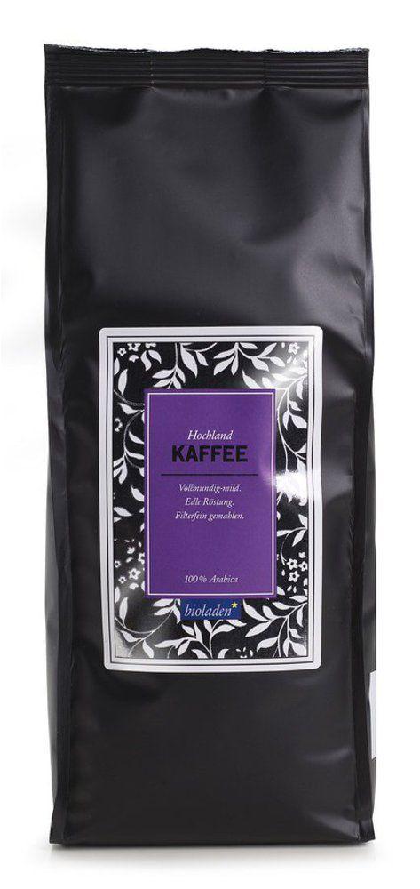 bioladen Hochlandkaffee gemahlen 12x500g