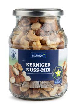 bioladen Kerniger Nuss-Mix im Pfandglas 6x280g