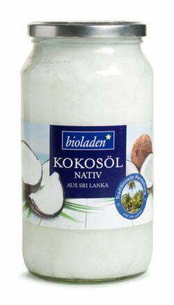 bioladen Kokosöl nativ 3x878g