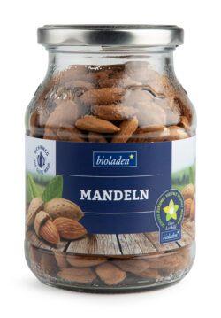 bioladen Mandeln, im Pfandglas 6x290g