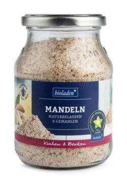 bioladen Mandeln natur, gemahlen im Pfandglas 6x230g