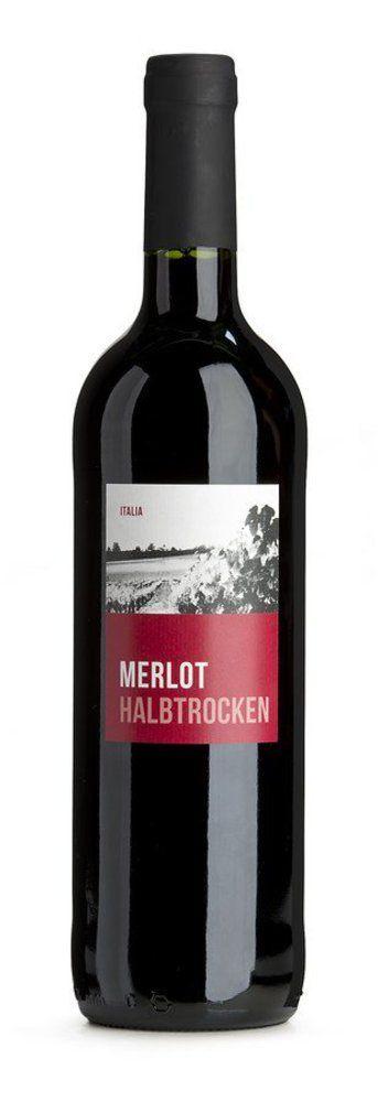 bioladen Merlot halbtrocken, rot 6x0,75l