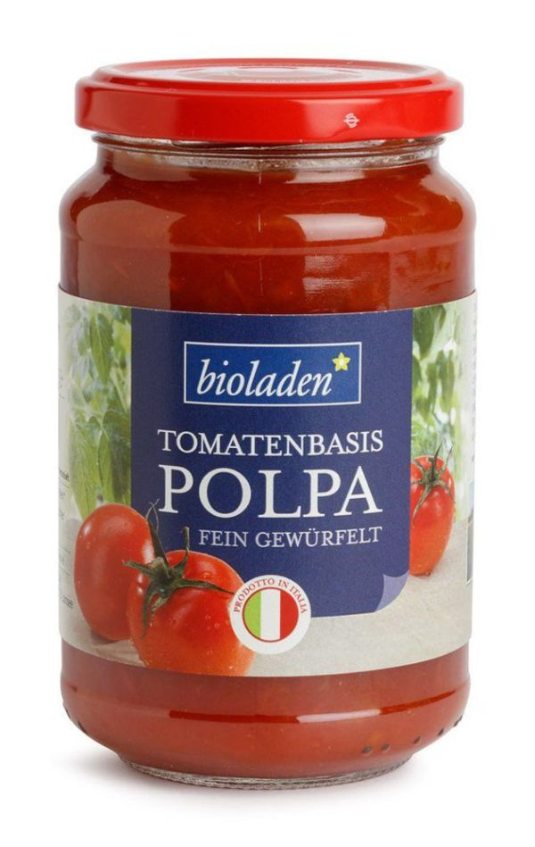 bioladen Polpa Tomatenbasis 330g