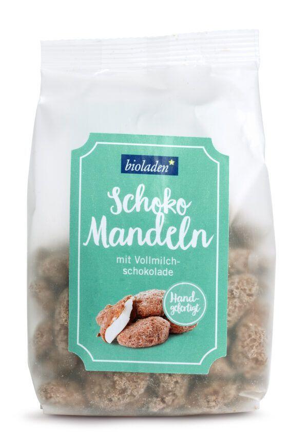 bioladen Schoko Mandeln Vollmilch 6x150g