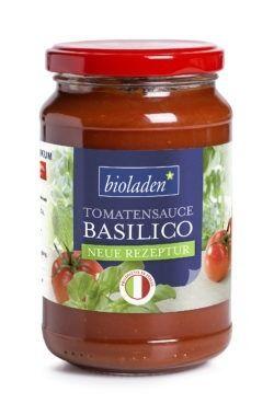 bioladen Tomatensauce Basilico 6x340g