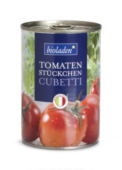 bioladen Tomatenstücke, Cubetti 12x400g