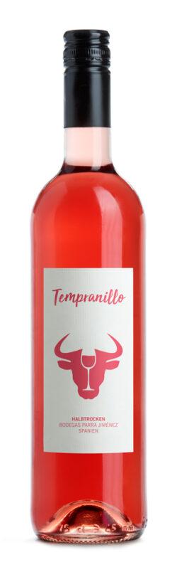 bioladen b*Tempranillo halbtrocken, rosé 0,75l