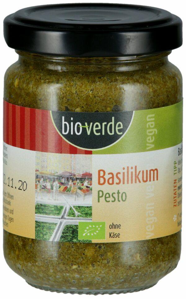 bio-verde Basilikum-Pesto vegan 125ml