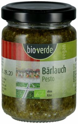 bio-verde Bärlauch-Pesto vegan 125ml