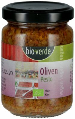 bio-verde Oliven-Pesto vegan 6x125ml