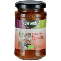 bio-verde Sonnengetrocknete Tomaten mit frischen Kräutern in Öl-Marinade 6x200g
