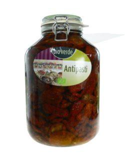 bio-verde Sonnengetrocknete Tomaten mit frischen Kräutern in Öl 4,75kg