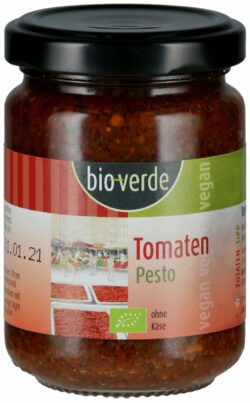 bio-verde Tomaten-Pesto vegan 6x125ml