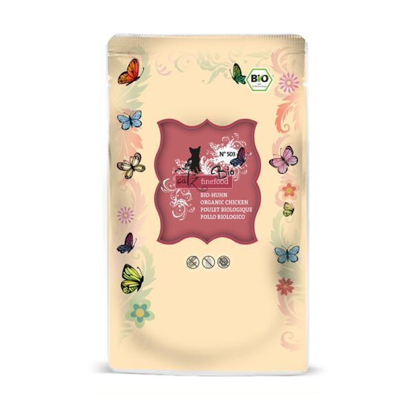 catz finefood Bio No.503 Huhn 12x85g