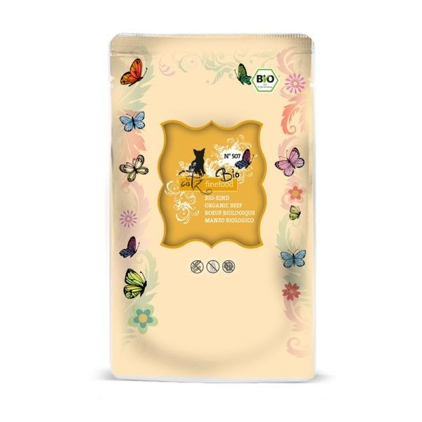 catz finefood Bio No.507 Rind 12x85g