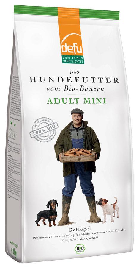 defu Hund Adult Mini Geflügel 3x3kg