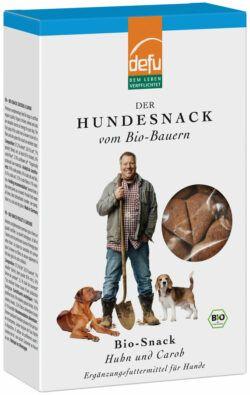 defu Hunde Bio-Snack Huhn & Carob 6x200g