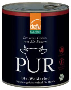 defu PUR Bio-Weiderind 6x800g