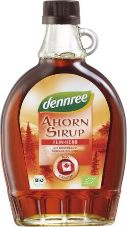 dennree Ahornsirup fein-herb 375ml