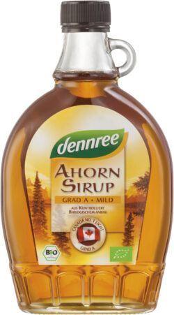 dennree Ahornsirup mild-aromatisch 12x375ml