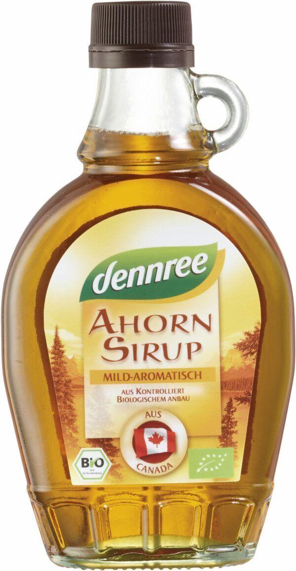 dennree Ahornsirup mild-aromatisch 12x250ml