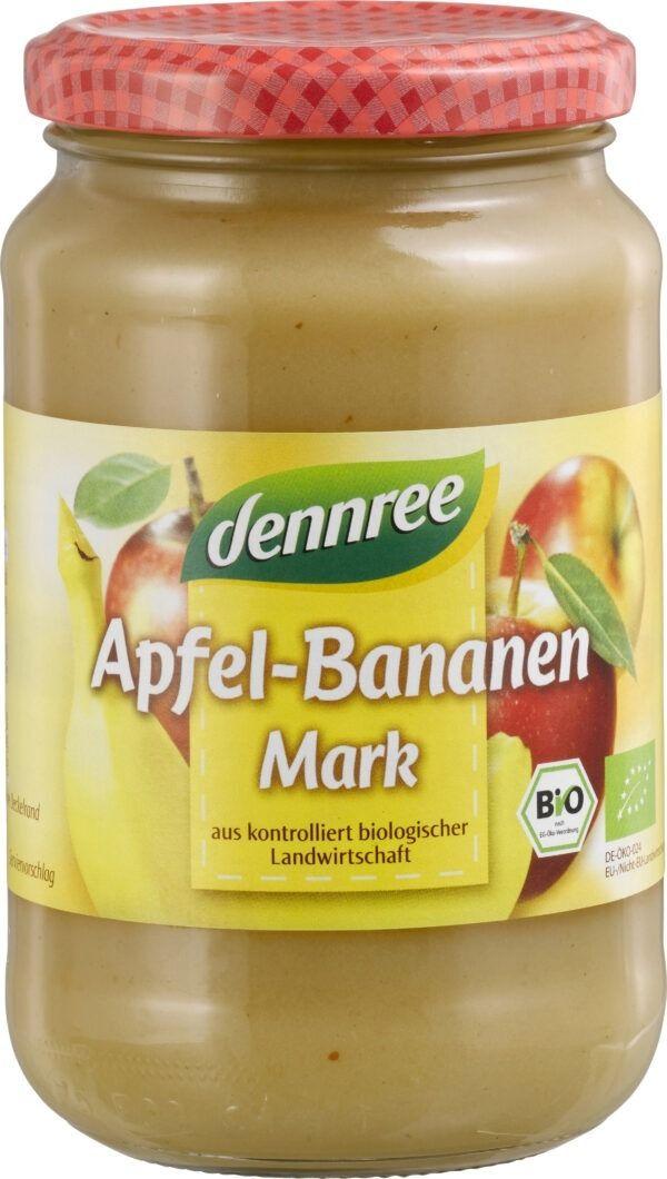 dennree Apfel-Bananen-Mark 360g