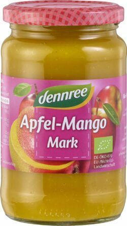 dennree Apfel-Mango-Mark 6 x 360g