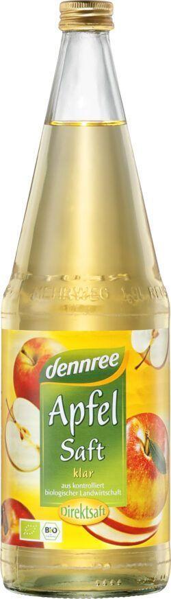 dennree Apfelsaft klar, Direktsaft 1l